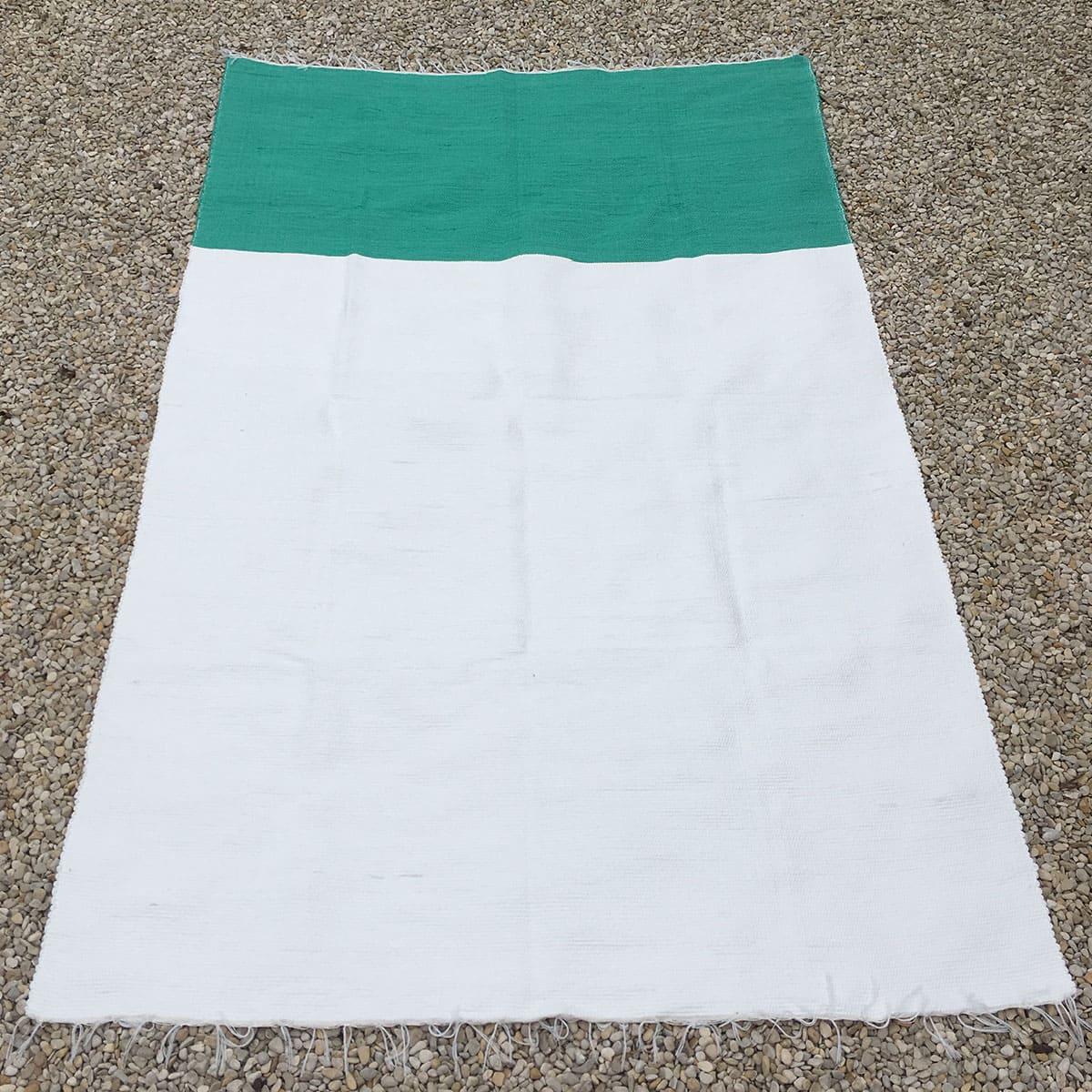 bicolor groen - wit