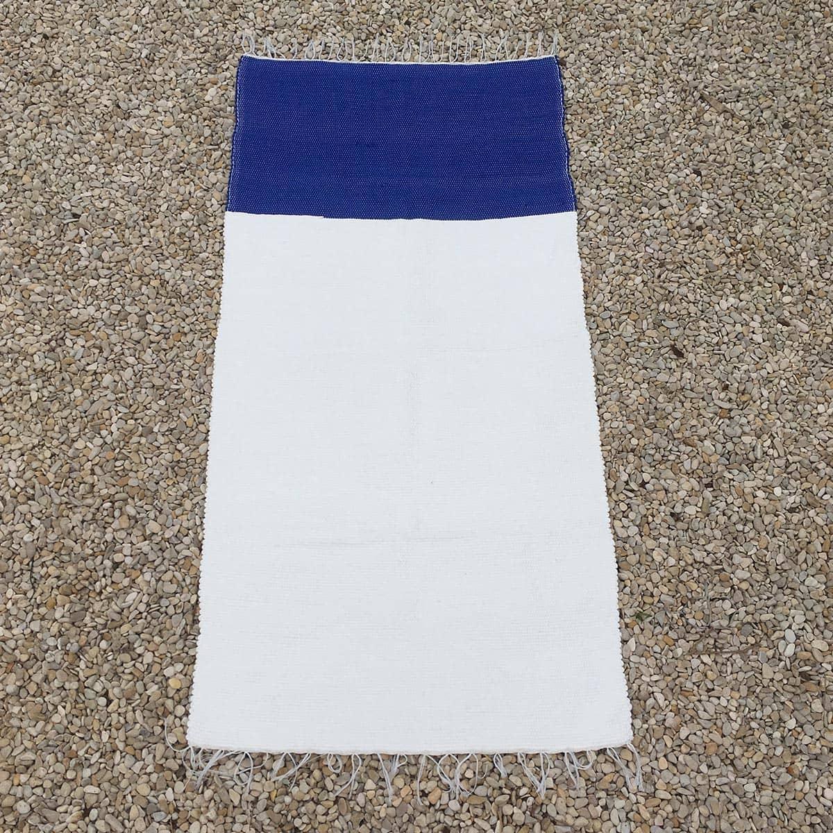 bicolor blauw - wit
