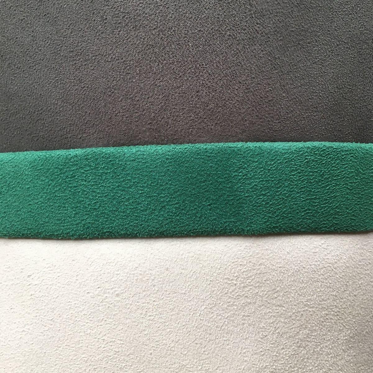 brede streep wit - groen - bruin