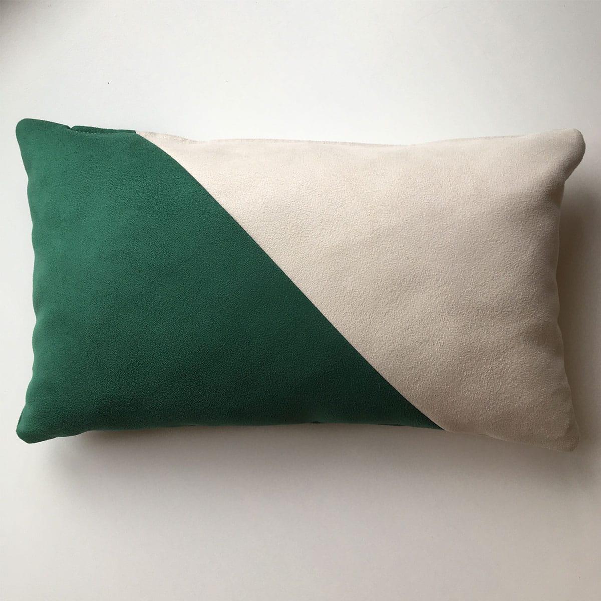 schuin - groen - wit